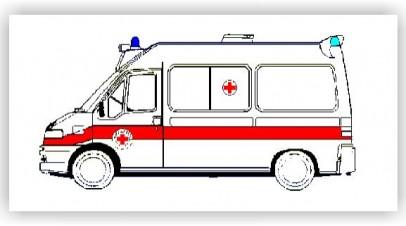 Posizionamento del mezzo di soccorso